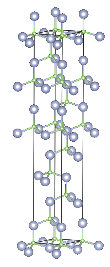 Depiction of Gallium Nitride in the form of 9R