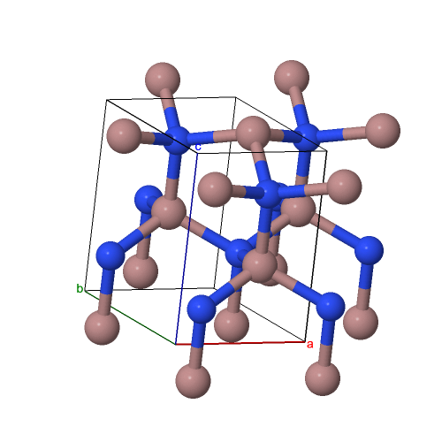 Wurtzite crystal structure