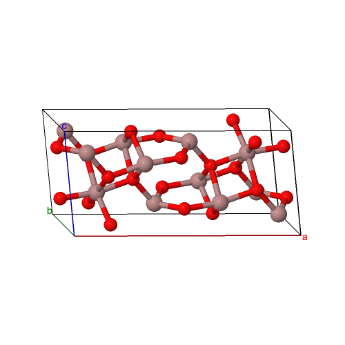 Sesquioxide crystal structures